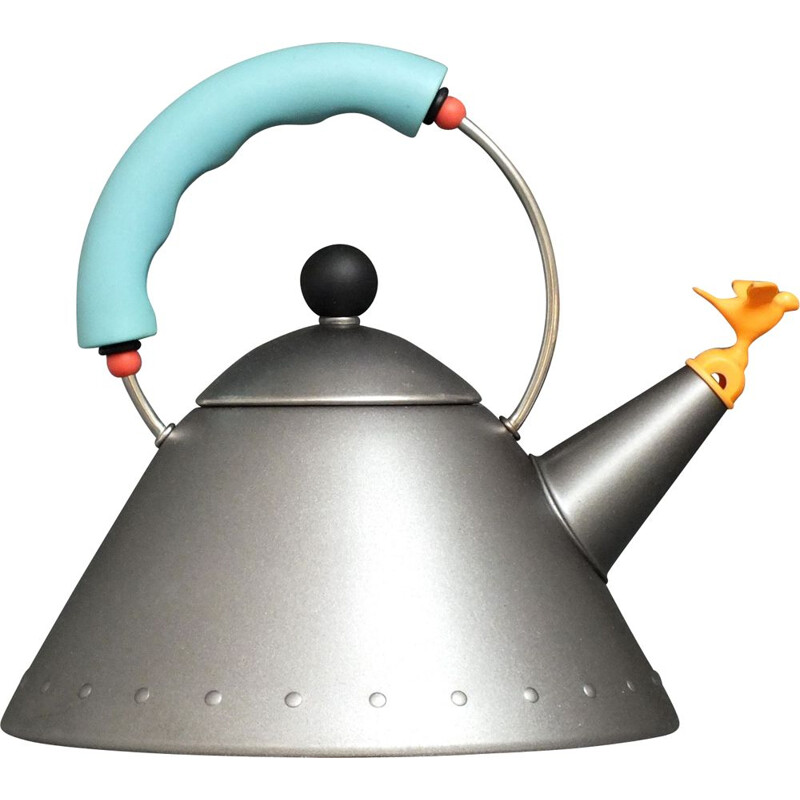 Vintage tea kettle by Michael Graves for Alessi, Italy