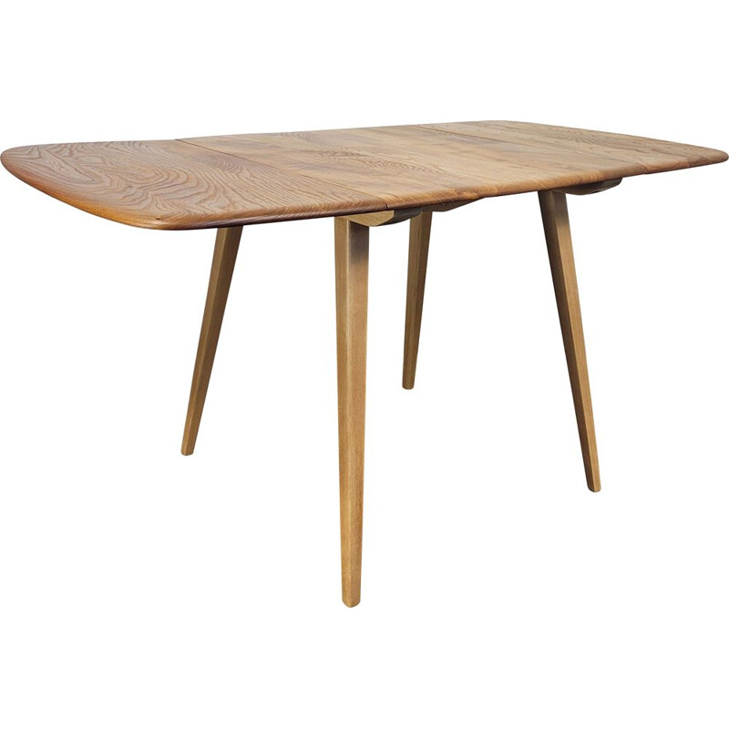 Vintage drop leaf dining table by Ercol, 1960s