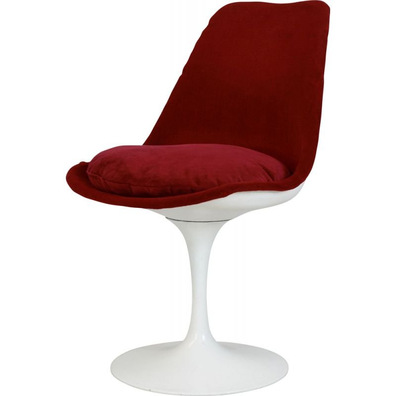Vintage Tulip swivel chair stamped by Knoll, USA 1960