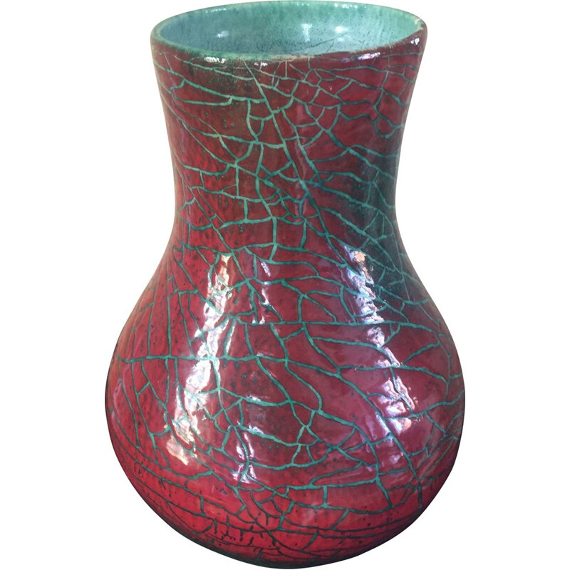 Vintage ceramic vase from Accolay