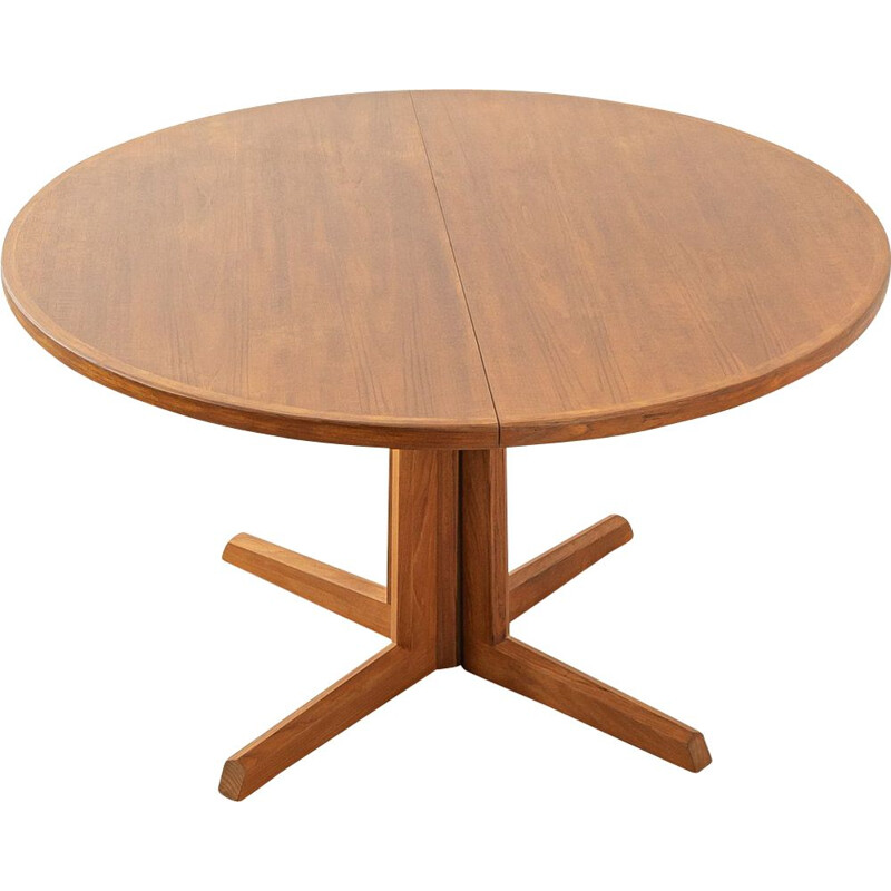 Vintage wood dining table, Denmark 1960s