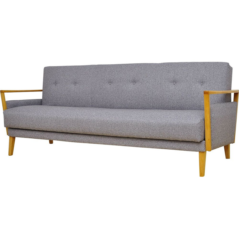 Mid century 3 seat sofabed, 1960s