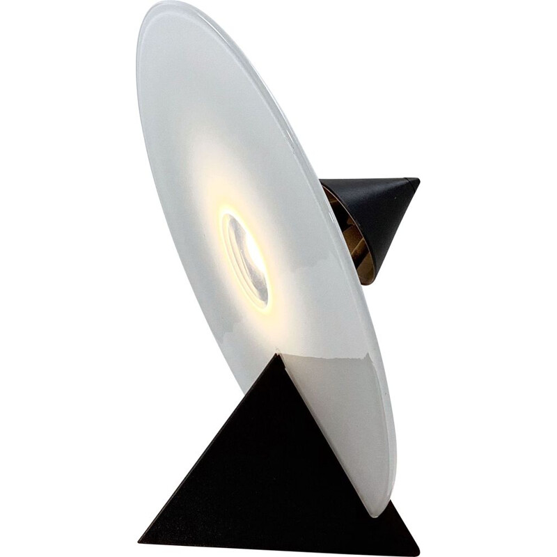 Vintage table lamp by Roberto Pamio for Leucos, 1980s