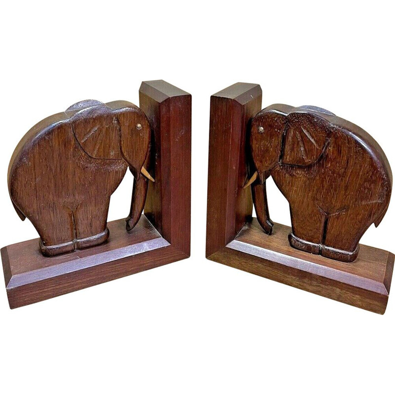 Pair of vintage Art Deco bookends