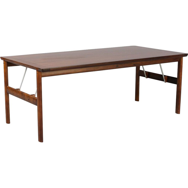 Rosewood vintage dining table for Sibast, Denmark