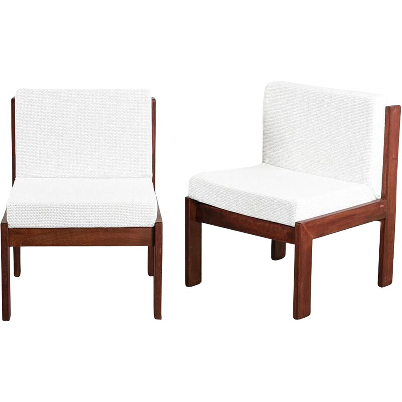 Pair of vintage armchairs by André Sornay, 1960