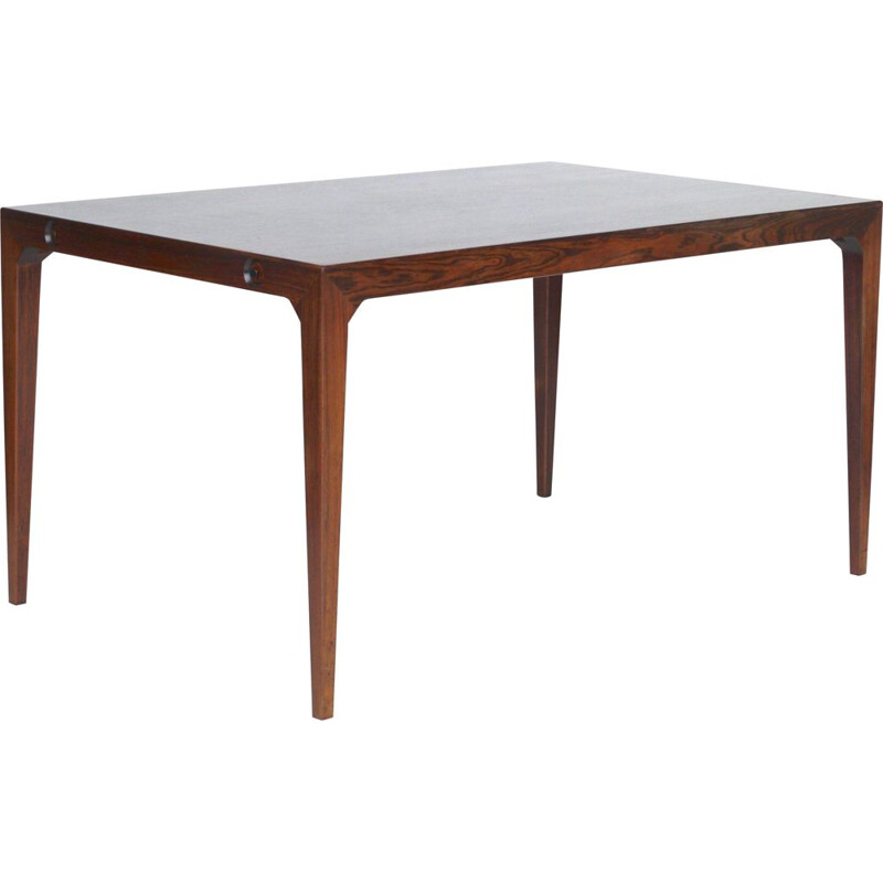 Danish vintage rosewood dining table by Poul Hundevad and Kai Winding for Hundevad & Co