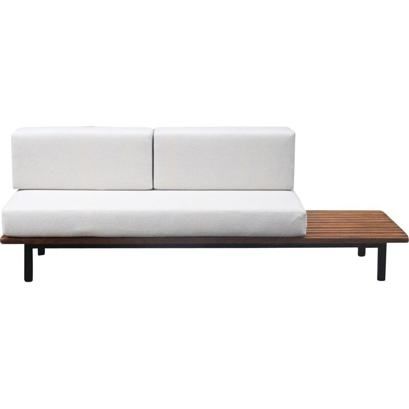Vintage Cansado bench by Charlotte Perriand for Steph Simon, 1950