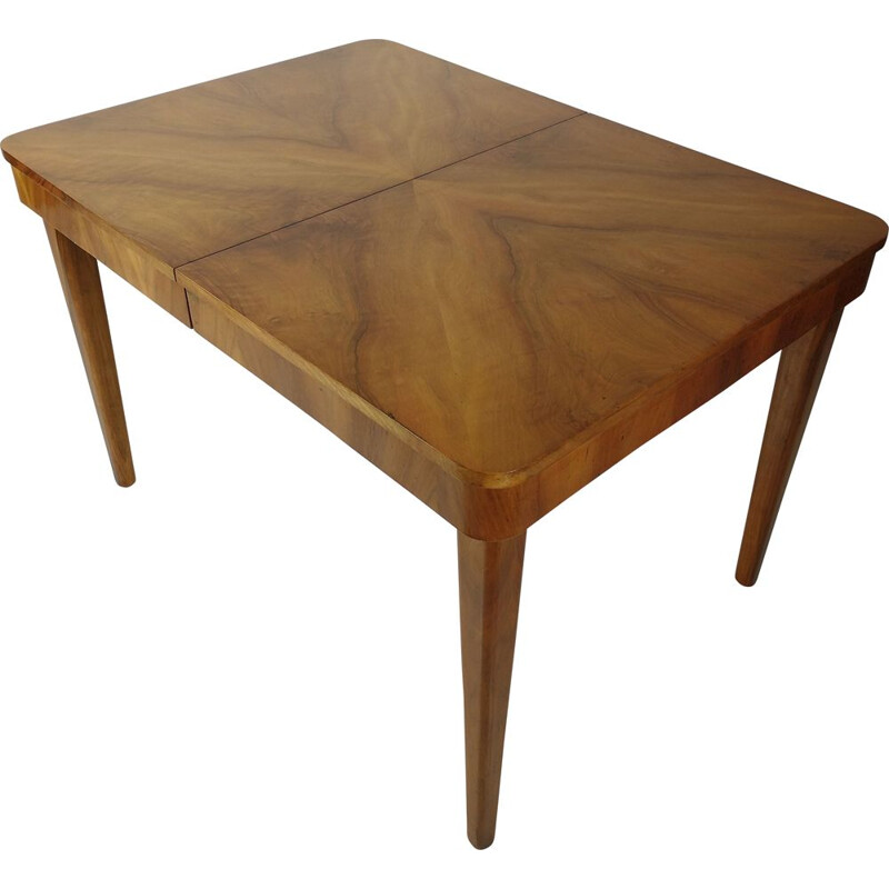 Mid century adjustable table by Jindřich Halabala for Up Zavody, 1950s