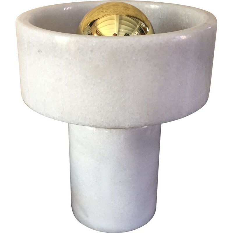 Vintage Stone marble lamp by Tom Dixon