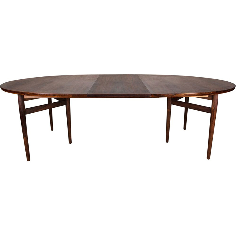 Danish vintage extendable table in Rio rosewood by Arne Vodder for Sibast, 1960