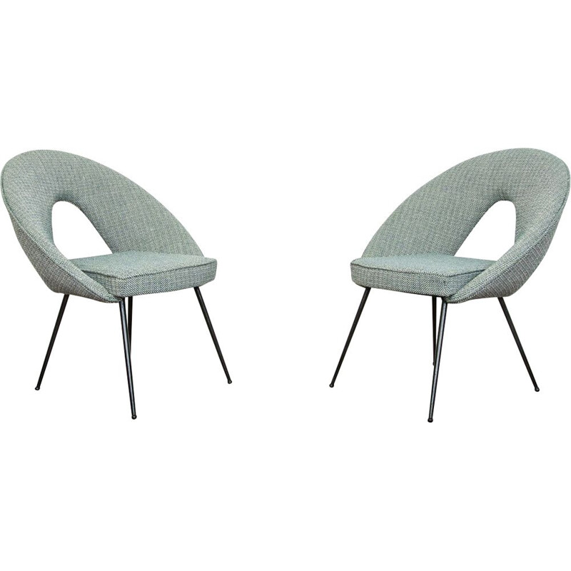 Pair of vintage Shell chairs, 1960s