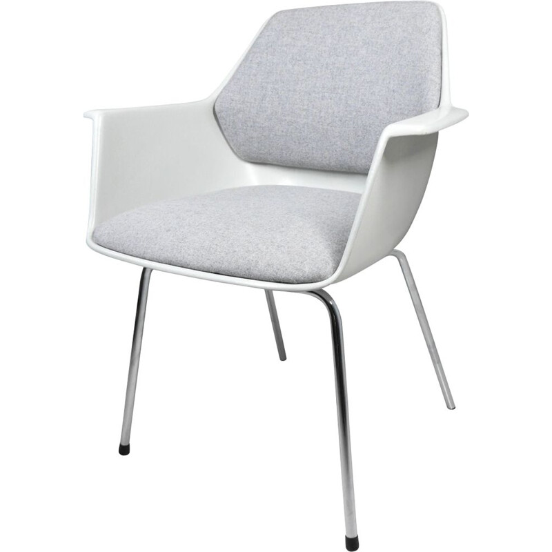 Vintage gray armchair from Wilkhahn, Germany 1970s