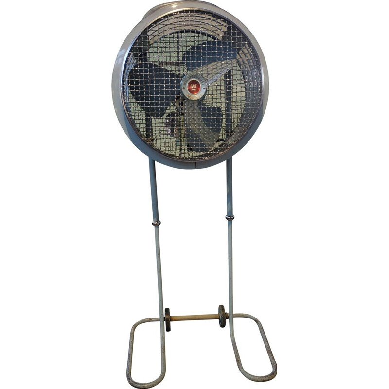 Vintage Mobil-Aire floor fan by Westinghouse, USA 1940s