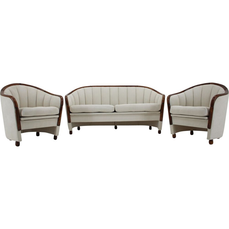 Vintage living room set by Gio Ponti, Italy 1950s