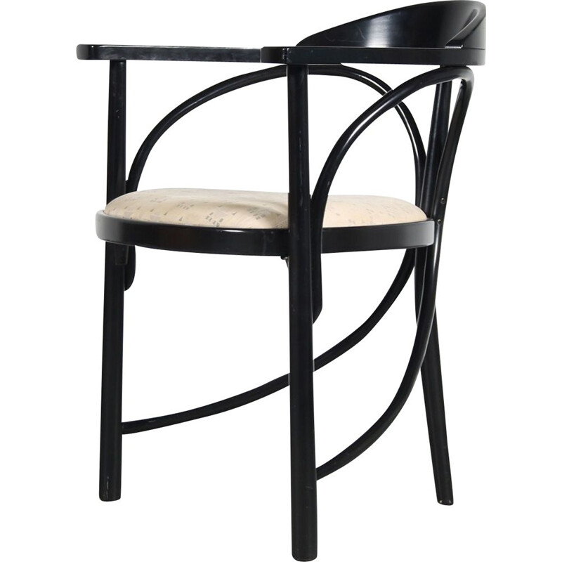 """Vintage """"Rondo"""" side chair by Thonet, France 1980s"""