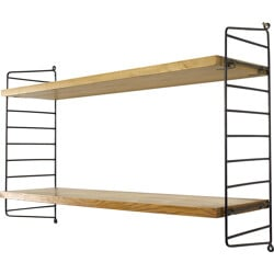Ladder shelf in metal, Nisse STRINNING - 1970s