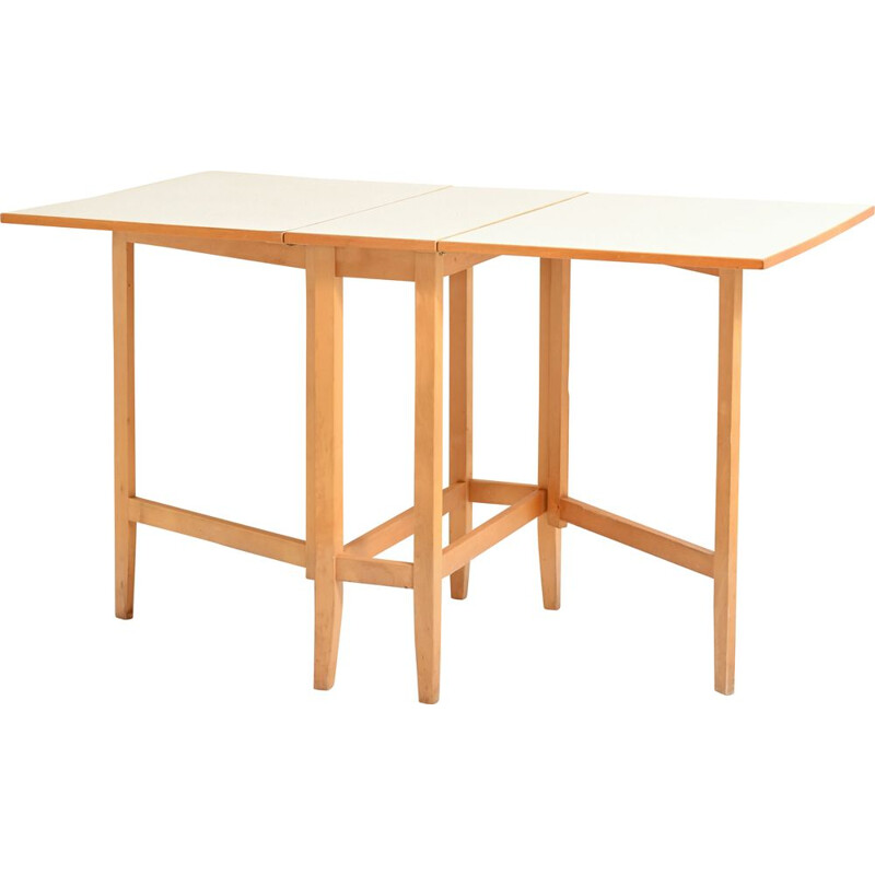 Vintage extending table with wings by Edsby Verken