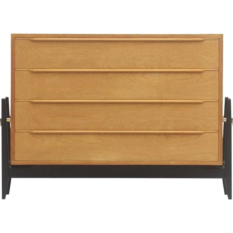Belgian vintage chest of drawers by Alfred Hendrickx, 1950