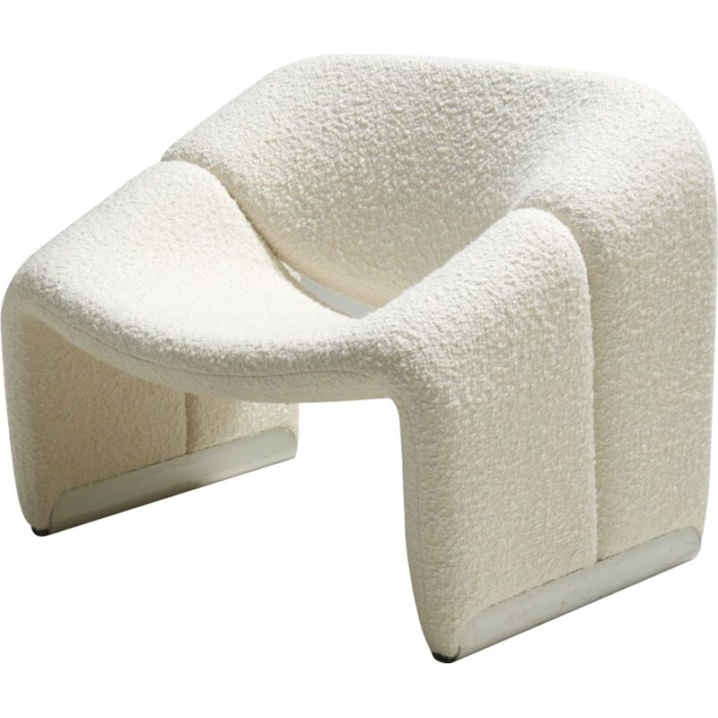 """Vintage the """"Groovy"""" or """"M"""" armchair by Pierre Paulin for Artifort, Netherlands 1970s"""