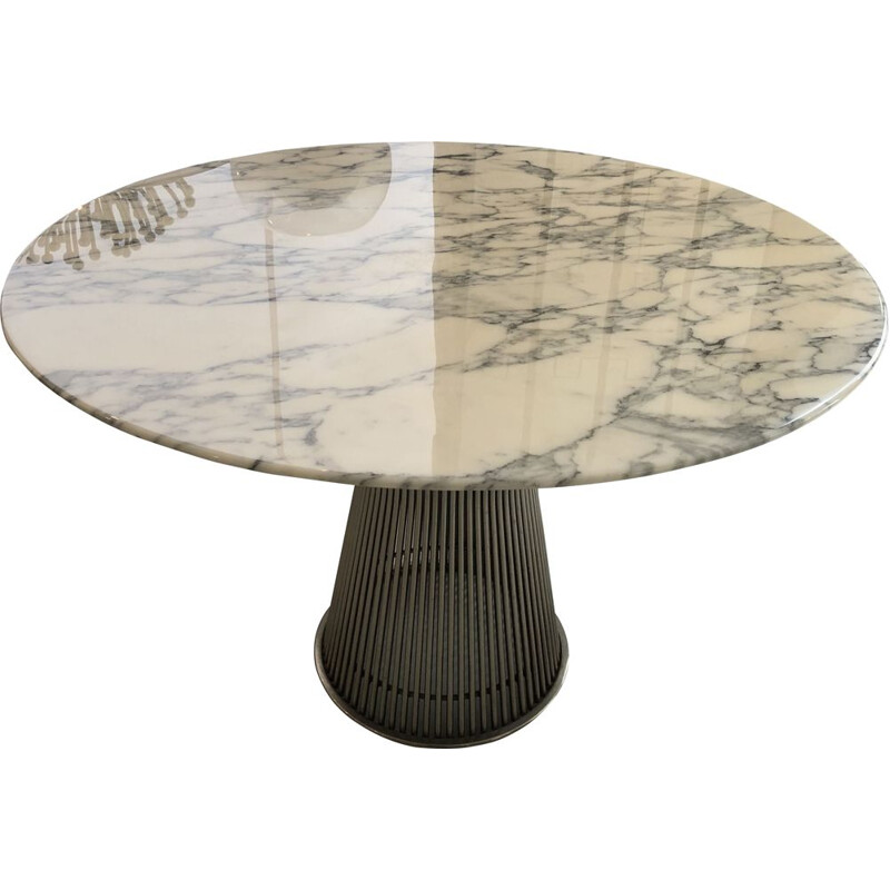 Vintage marble table by Warren Platner for Knoll, 1966