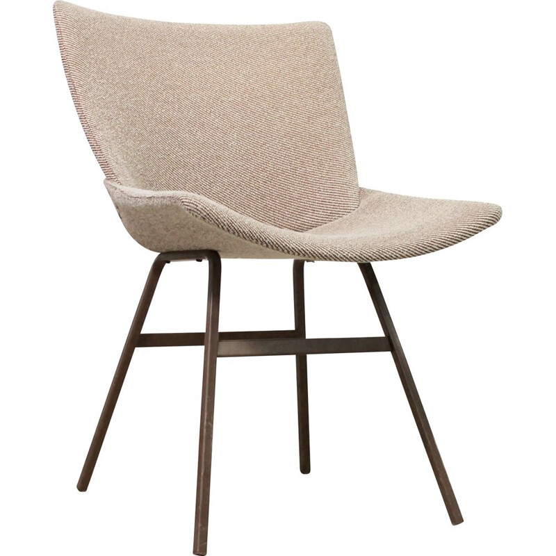Vintage Shell (Lupina) office armchair by Niko Kralj