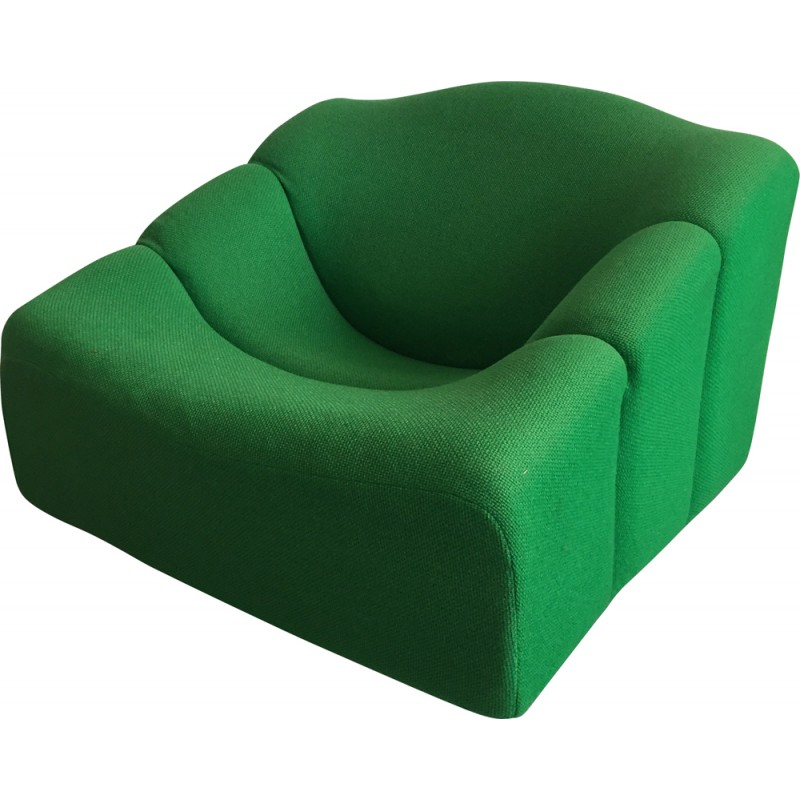 "Artifort green ""ABCD"" armchair, Pierre PAULIN - 1960s"