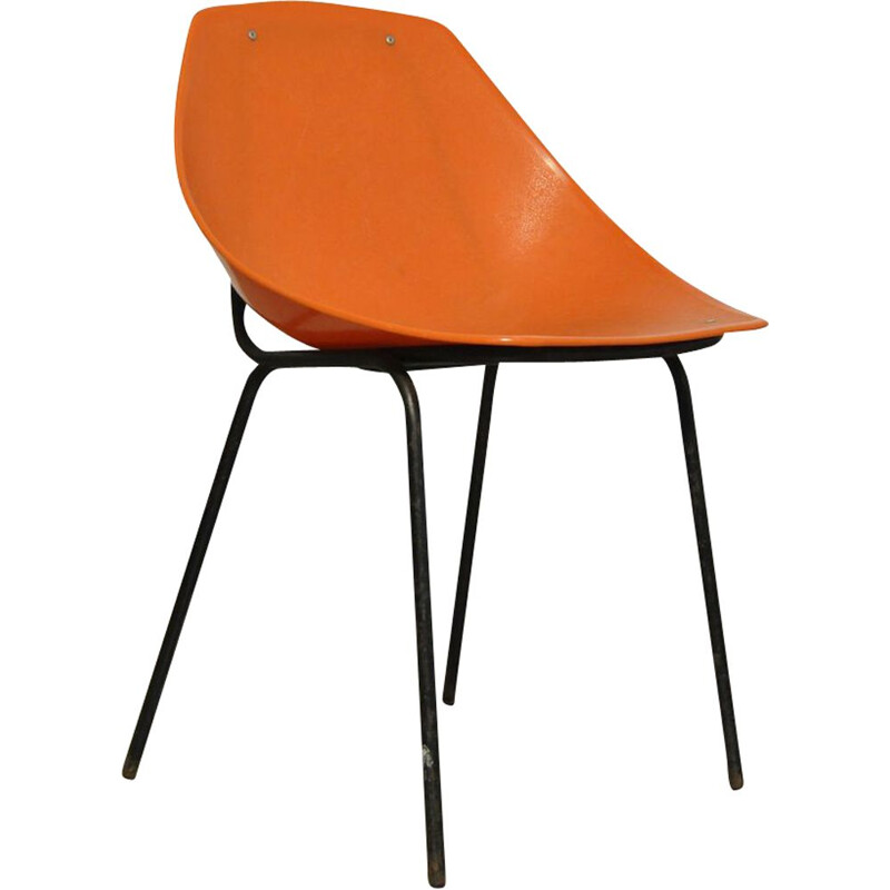 Vintage Coquillage chair by Pierre Guariche for Meurop, Belgium 1960s