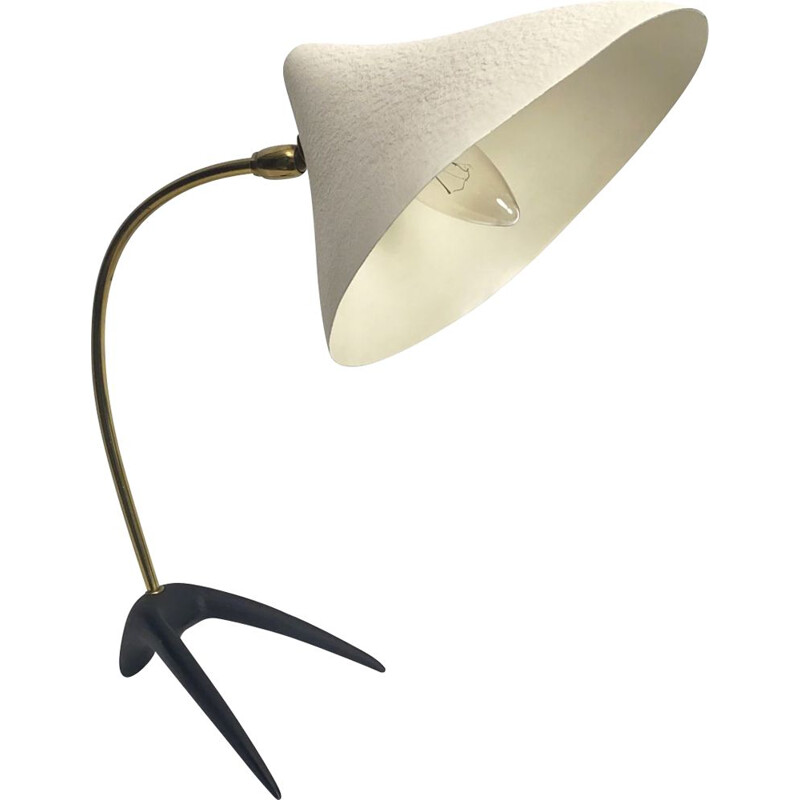 Mid century table lamp with crow's foot by Louis Kalff for Philips, Netherlands 1950s