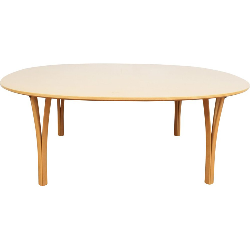 Vintage coffee table by Bruno Mathsson for Fritz Hansen, 1980s