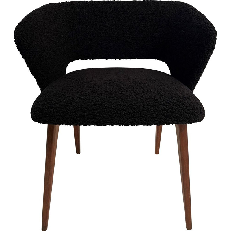 Vintage armchair Coquille by Michel Ducaroy for Roset, France 1958