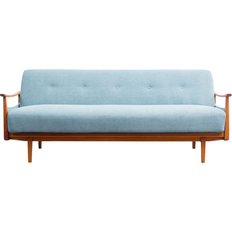 Mid-century sofa with fold-out guest bed, 1950s