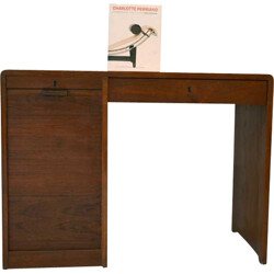 Mid-century Danish desk in solid teak wood - 1950s