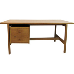 Danish Getama desk in oak, Hans J. WEGNER - 1960s