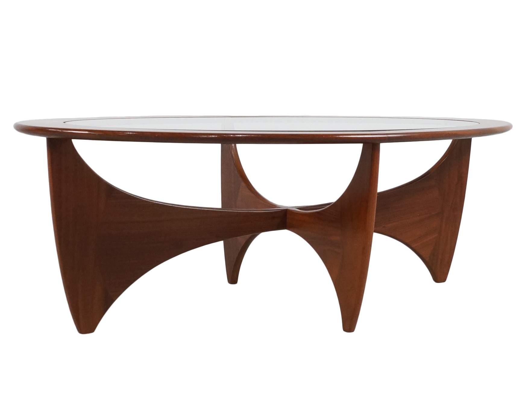 G Plan Astro Teak Oval Coffee Table Victor WILKINS