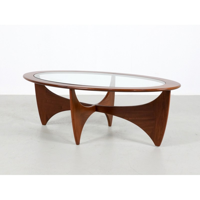 """Oval Coffee Table Design: G-Plan """"Astro"""" Teak Oval Coffee Table, Victor WILKINS"""