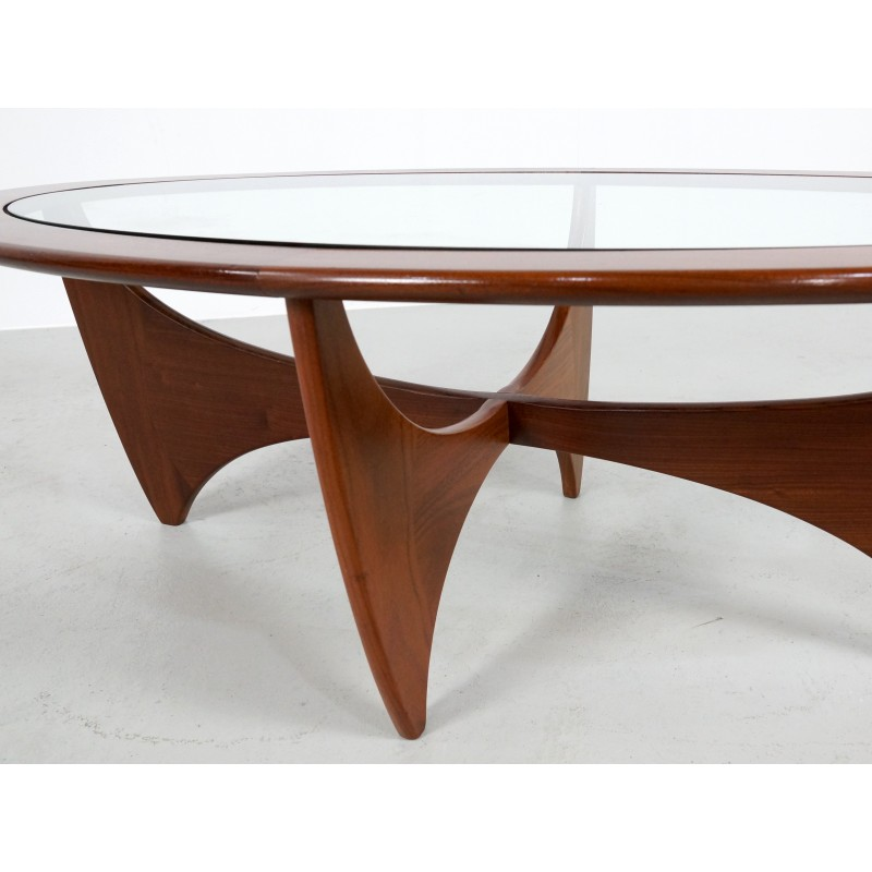 G Plan Quot Astro Quot Teak Oval Coffee Table Victor Wilkins