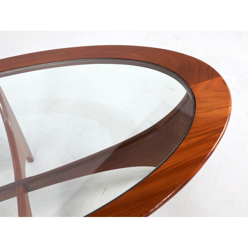 "Oval Coffee Table Plans: G-Plan ""Astro"" Teak Oval Coffee Table, Victor WILKINS"