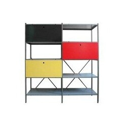 Colorful Industrial Storage Cabinet, Wim RIETVELD - 1954