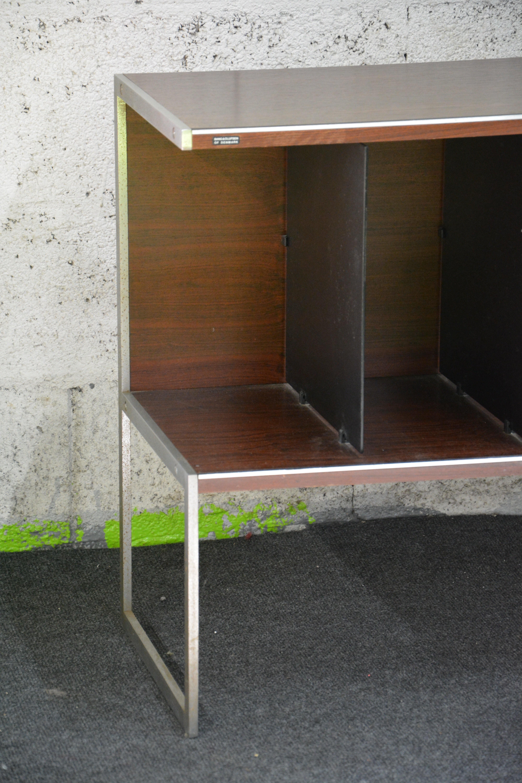 Bang Olufsen High Hifi Furniture In Rosewood And Brushed Metal  # Meuble Hifi Vintage