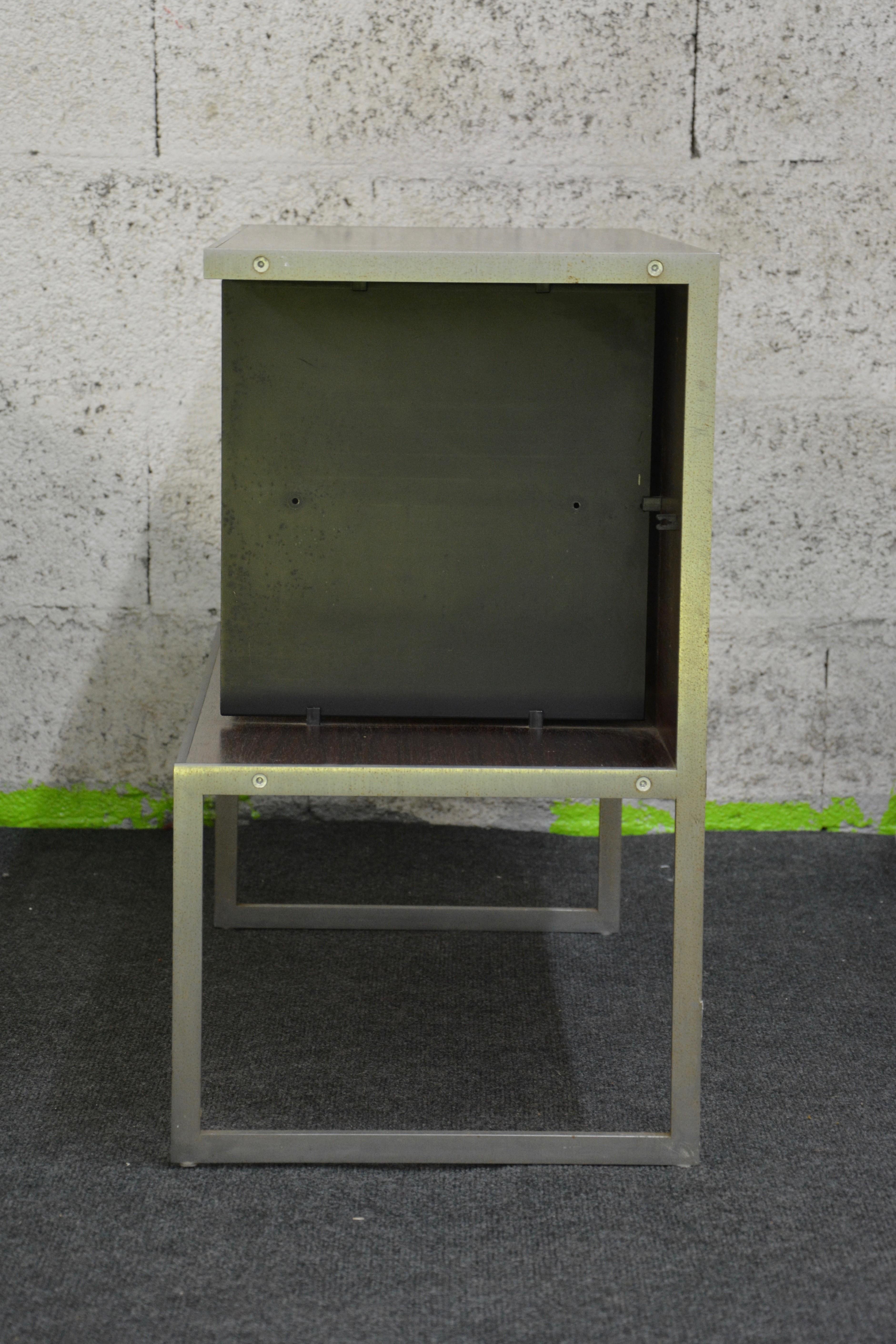 Bang Olufsen High Hifi Furniture In Rosewood And Brushed Metal  # Meuble Tv Hifi Vintage