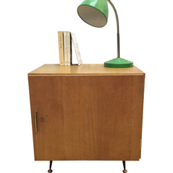 Mid-century wooden bedside table - 1960s