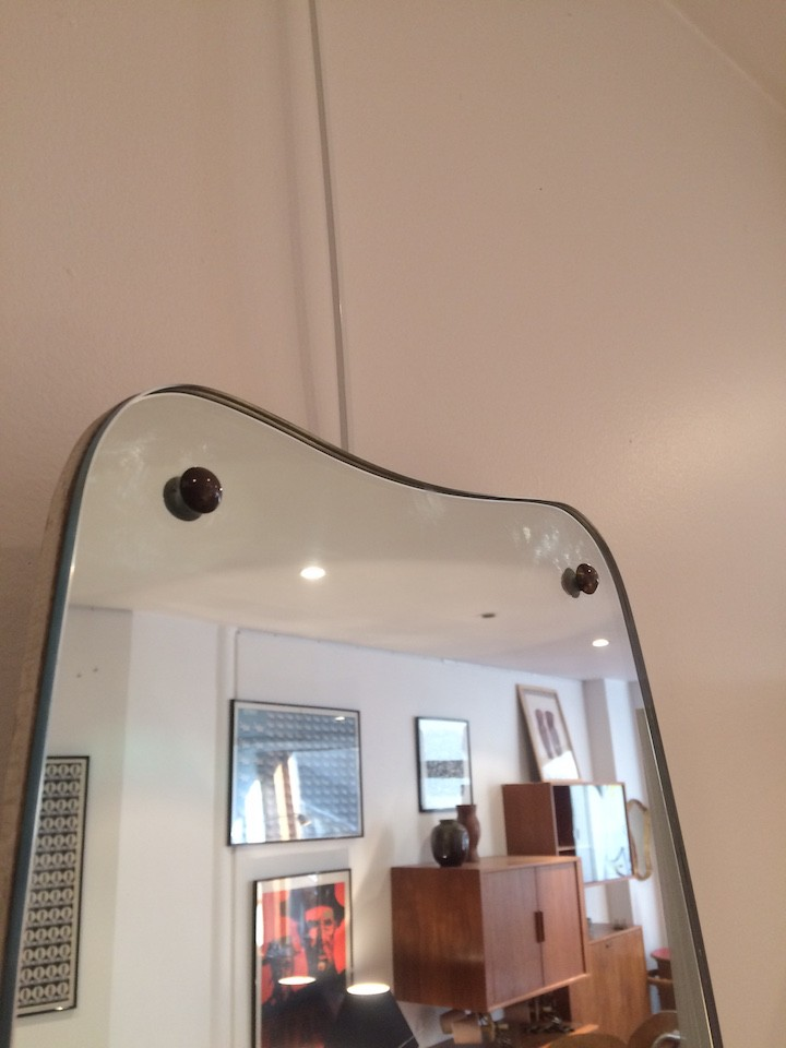 Large Mid Century Wall Mirror 1950s Previous Next