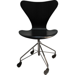 "Fritz Hansen ""3117"" chair, Arne JACOBSEN - 1950s"