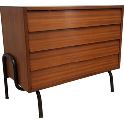 Vintage Tubauto chest of drawers, Jacques HITIER - 1950s