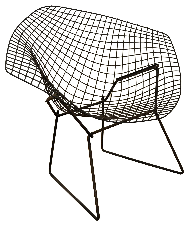 chaise diamond bertoia