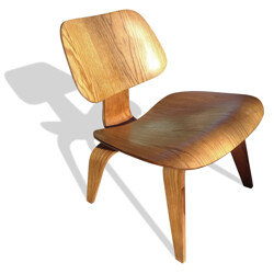 "Vintage ""LCW"" Herman Miller chair, Charles & Ray EAMES - 1960s"