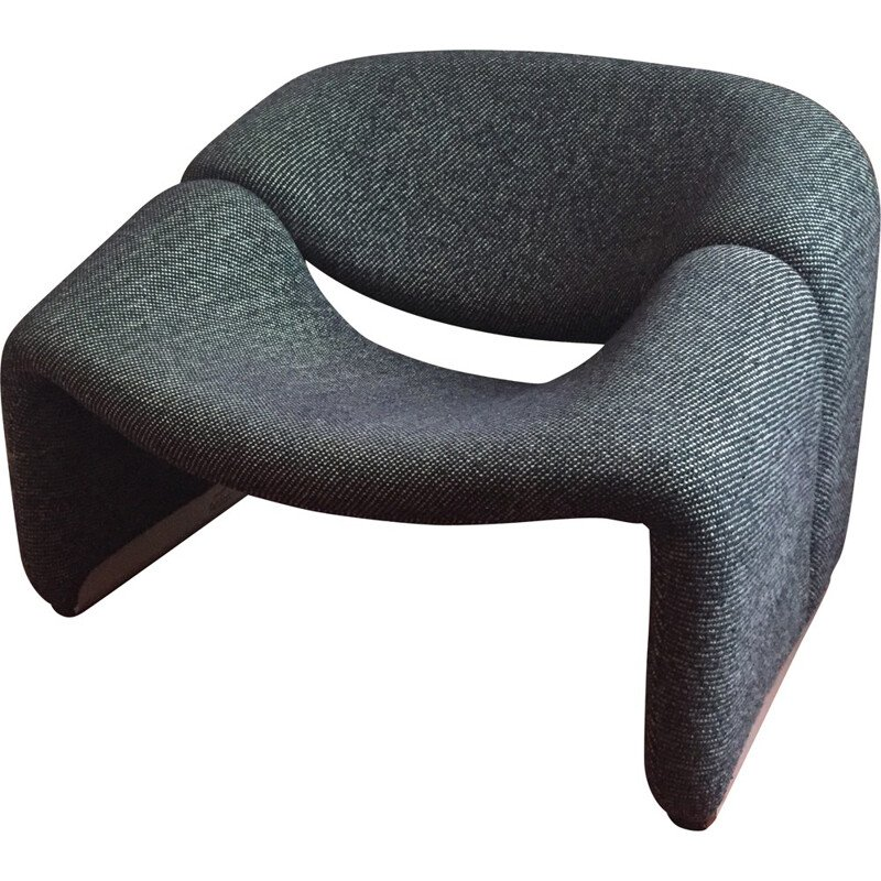 "Artifort ""Groovy"" chair in fabric, Pierre PAULIN - 1970s"