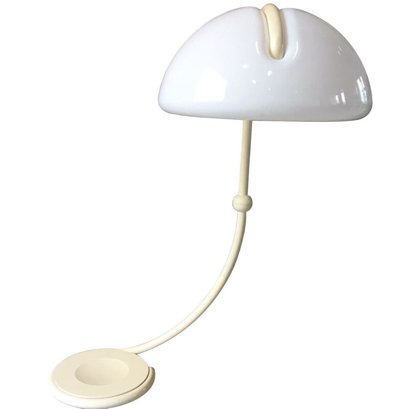 "Martinelli ""Serpente"" floor Lamp in metal, Elio MARTINELLI - 1960s"