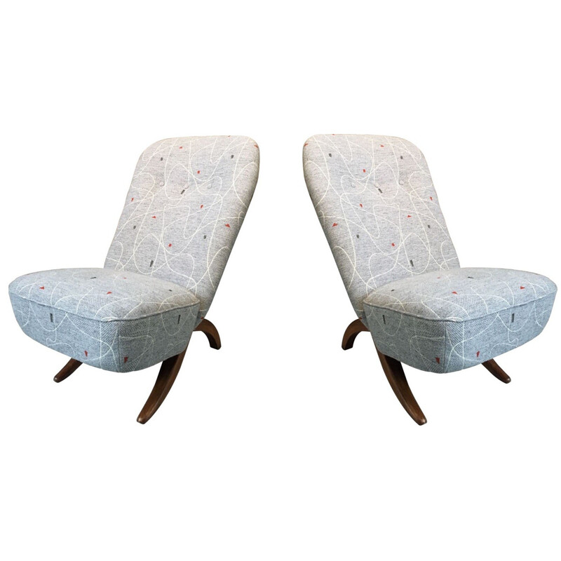 "Pair of Artifort ""Congo"" armchairs, Théo RUTH - 1950s"